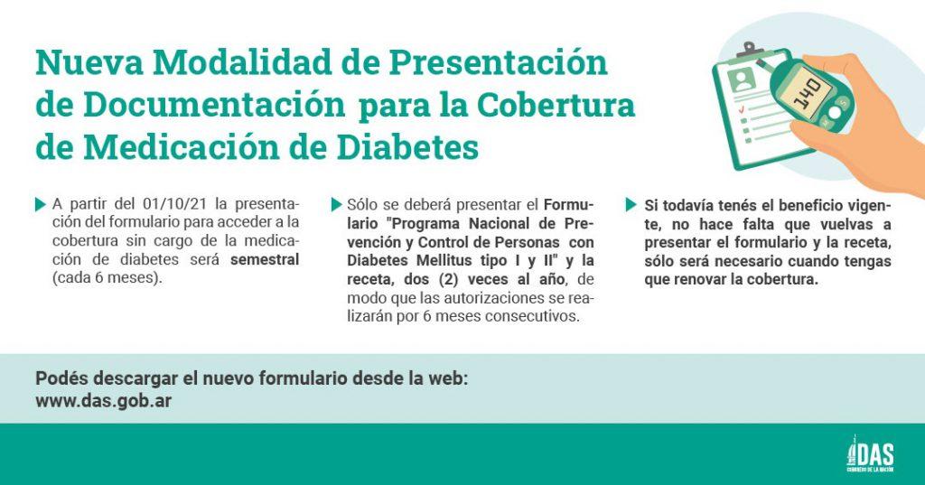 Importante: Medicación Diabetes